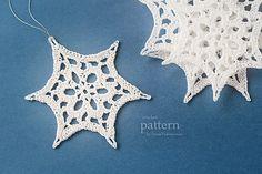 Ravelry: Crochet Christmas Snowflake (Star) pattern by zoom yummy.