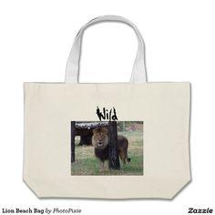 Lion Beach Bag