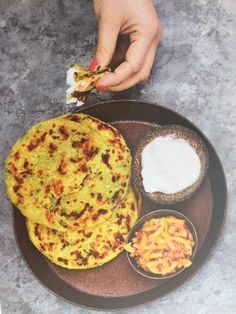 Quiche, Spices, Indian, Breakfast, Ethnic Recipes, Food, Morning Coffee, Spice, Eten