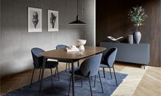 Boconcept, Dinning Table, Extendable Dining Table, Dining Chairs, Kingston, Danish Furniture, Modern Furniture, Furniture Design, Modern Room Design