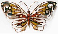 Multinotas: Decoración, Accesorios de Metal, Mariposas