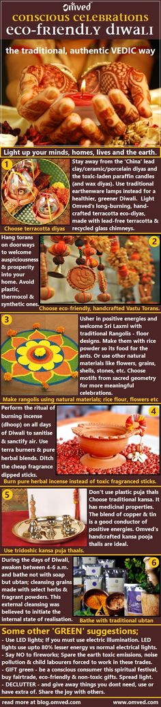 "How to celebrate a GREEN spiritual Diwali  ""Tamasomaa jyotirgamaya""    Lead me from darkness to light Light up your minds, homes, lives and the earth by celebrating consciously. follow authentic traditions while being gentle on the Earth"