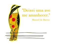 Por Manoel de Barros