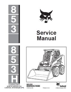 bobcat skid steer 741 742 742b 743 743b workshop service manual rh pinterest com bobcat 743 repair manual pdf bobcat 743 parts manual pdf