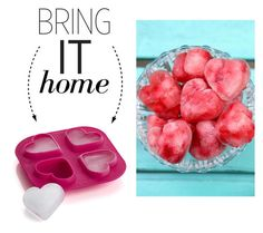 """""""Bring It Home: Heart Ice Cube Tray"""" by polyvore-editorial ❤ liked on Polyvore featuring interior, interiors, interior design, home, home decor, interior decorating, Crate and Barrel and bringithome"""