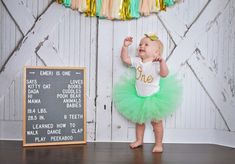 First Birthday Outfit Girl Tutu Cake Smash Outfit Girl Tutu 1st Birthday Outfit Girl, 1st Birthday Tutu, Gold First Birthday, Baby Girl Birthday, Birthday Cake, Baby Band, Cake Smash Outfit Girl, Tutu Cakes, Baby Girl Tutu