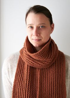 Rick Rack Scarf in Worsted Twist | Purl Soho