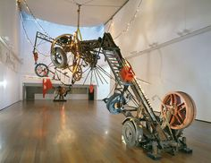 Jean Tinguely  Luminator  1991   #installation   #contemporary art