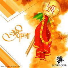 Happy Gudi Padwa!   #Happygudipadwa #Festival #Wishes #DigitalMarketingServices #GlobaLocalDigital