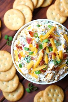I came across a recipe for a dip called Million Dollar Dip that I had to try. I changed a few ingredients and ended up making the best dip ever!