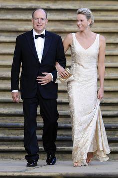 HH.SS.HH. Albert and Charlene, Princes of Monaco