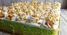 Rice Cake Recipes, Cake Receipe, Dessert Cake Recipes, Asian Desserts, Easy Desserts, Malaysian Dessert, Pandan Cake, Cream Cheese Cupcakes, Doughnut Cake