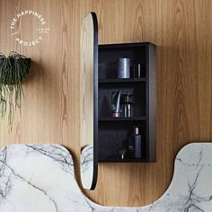 We just launched a bunch of ISSY by Zuster range additions and it's like we've fallen in love with the range all over again! This ISSY Z1 Ballerina shaving cabinet has that beautiful Ballerina oval shape, and can be recessed into the wall for a space saving and seamless look. Can never have too much storage!