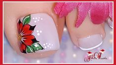 Cute Pedicure Designs, Toenail Art Designs, Classy Nail Designs, Pink Nail Designs, Cute Toe Nails, Cute Acrylic Nails, Toe Nail Art, Cute Pedicures, Special Nails