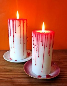 Blutige Kerzen  www.belkabelka.com