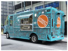 Food Truck Frenzy: Branding Showcase