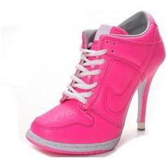 501ef35d922a Nike Dunk SB Low Heels Deep Pink