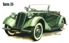 Vintage Stuff and Antique Designs Classic Motors, Classic Cars, Car Illustration, Illustrations, Carros Vintage, Motos Vintage, Automobile, Car Posters, Car Drawings