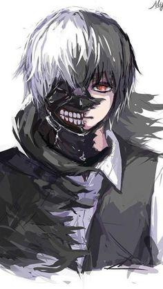 Ken Kaneki (金木 研)   Tokyo Ghoul (東京喰種 / トーキョーグール) fanart   cto
