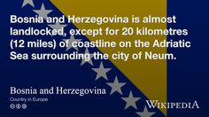 """Bosnia and Herzegovina"""
