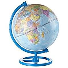Color Circle Globe for Children  #Geography