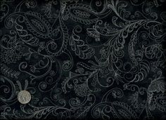 1 yard 108 Quilt backing Paisley Fabric Blue by thebusybeequilting ... : white tone on tone quilt fabric - Adamdwight.com