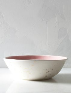 Everyday Bowl in Rose and Gold Splatters – Suite One Studio