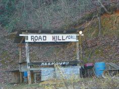 redneck road kill grill