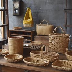 Newest Free of Charge bamboo weaving bag Style Chinese traditional craft – bamboo weaving – Page 7 of 32 – zzzzllee Bamboo Art, Bamboo Crafts, Bamboo Basket, Rattan Basket, Round Basket, Bamboo Weaving, Basket Weaving, Bamboo Design, Bamboo Furniture