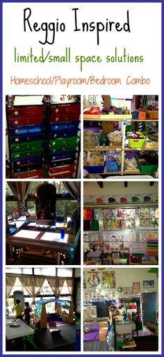 Reggio and Montessori inspired homeschool room tour