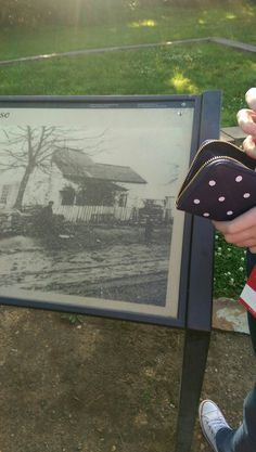 This is a picture of the house that a soldier stayed in.