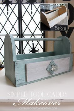 Simple Tool Caddy Makeover