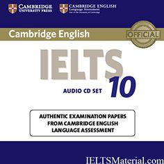 IELTS Cambridge IELTS 10 Free Download Latest 2016