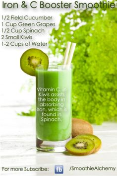 Splendid Smoothie Recipes for a Healthy and Delicious Meal Ideas. Amazing Smoothie Recipes for a Healthy and Delicious Meal Ideas. Juice Smoothie, Smoothie Drinks, Detox Drinks, Cucumber Smoothie, Kiwi Juice, Turmeric Smoothie, Smoothie Packs, Cucumber Juice, Grape Juice