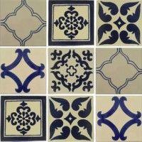 Mixed Set 33 Patchwork Tiles