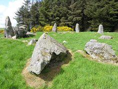 Aikey Brae Stone Circle, northern Aberdeenshire