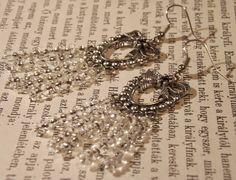 Fülbevaló * Earring Charmed, Bracelets, Jewelry, Fashion, Jewerly, Moda, Jewlery, Fashion Styles, Schmuck