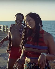 Clip from Guava Island starring Rihanna and Donald Glover