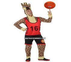 Tu mejor disfraz de jirafa adulto para hombre en DisfracesMimo.Comprar Disfraz de jirafa barato en tu Tienda Online, con referencia ats 10530.Con este traje tan divertido compuesto un traje de franela fina con su camiseta y su pantalón para hechar un partido de baloncesto con tus amigos en tus fiesta de disfraces o en tus despedidas de soltero.
