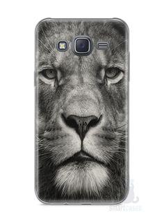 Capa Samsung J5 Leão Face - SmartCases - Acessórios para celulares e tablets :)