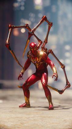 Spiderman PS4 Iron Spider original