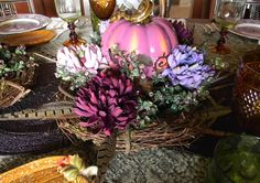 Nancy's Daily Dish: Thanksgiving Table Centerpieces