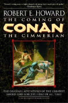 """Read """"The Coming of Conan the Cimmerian"""" by Robert E. Howard available from Rakuten Kobo. Conan is one of the greatest fictional heroes ever created–a swordsman who cuts a swath across the lands of the Hyborian. Great Sword, Fictional Heroes, Conan The Barbarian, Sword And Sorcery, Fantasy Books, Fantasy Fiction, Dark Fantasy, Fantasy Art, Book 1"""