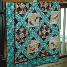 "FREE pattern: ""Fluttering Wings"" (from The Quilter Magazine)"
