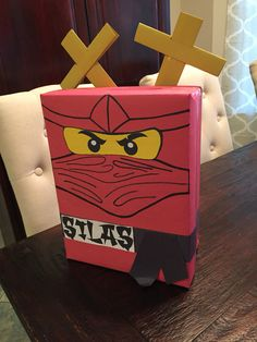 Ninjago Valentines, Valentine Day Boxes, Valentine Crafts For Kids, Valentine Party, Valentines Day Activities, Valentines For Boys, Valentine Decorations, Projects For Kids, Holiday Fun