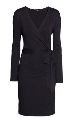 Rayon wrap dress