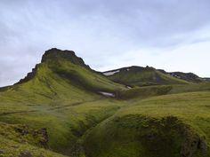 Iceland - Eruption Site of Eyjafjallajökull