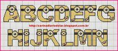 Minions Alphabet