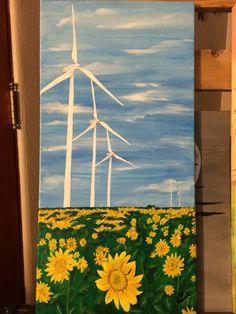 Wind Farm Minonk Illinois By Teresa Beard- Lowell