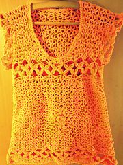 Ravelry: Hippie Style Top pattern by Para Tí Crochet
